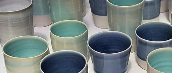 Gobelets en porcelaine