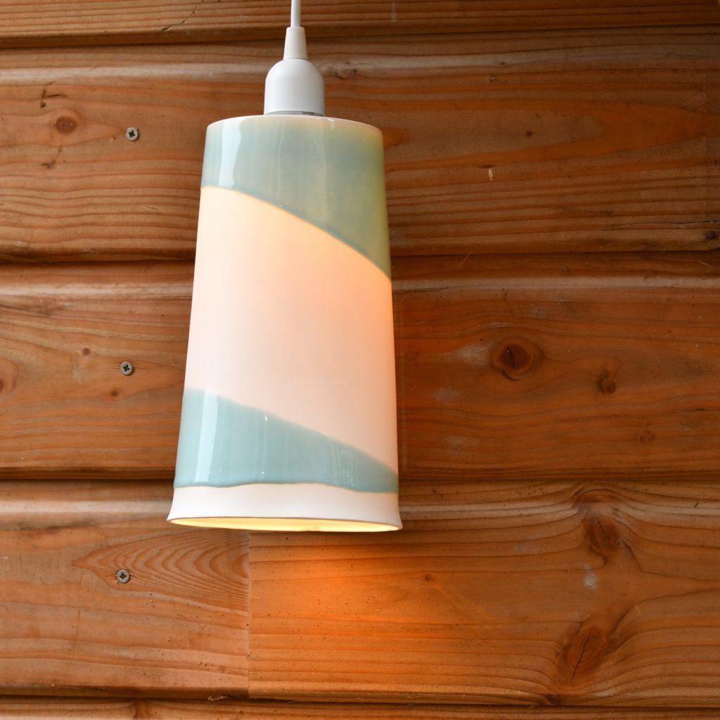 Luminaire en porcelaine 2