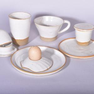 Collection Ecume- blanc - arts de la table