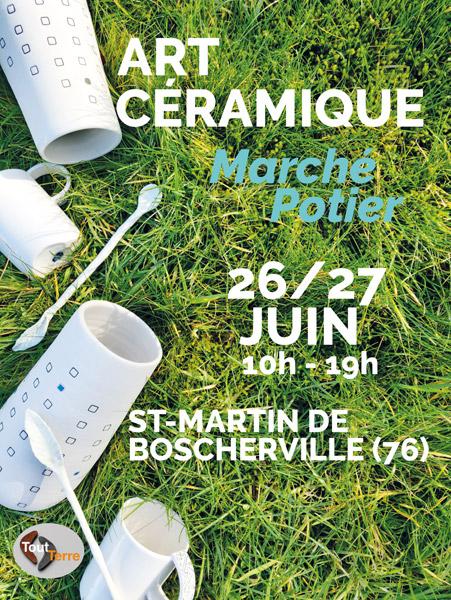 Marché de potiers ST Martin de Boscherville 26-27juin 21