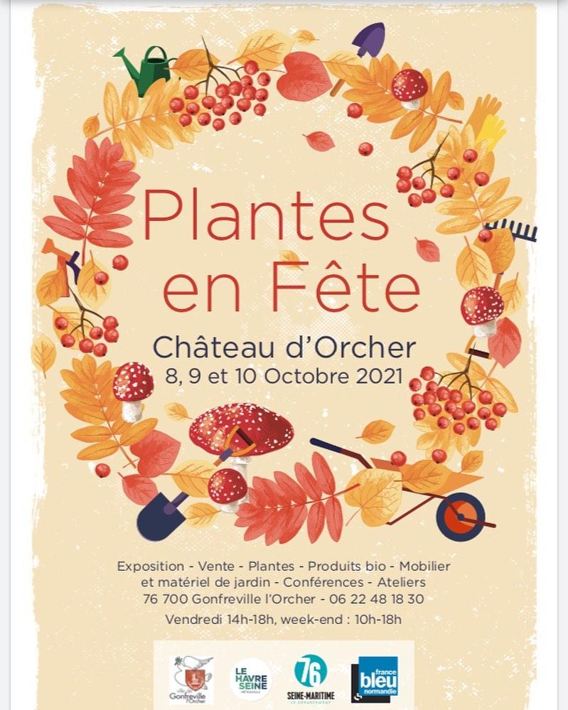CHATEAU D ORCHER PLANTES EN FETE
